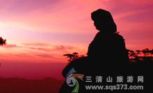 三清山东方女神